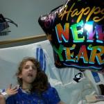 "Sara says ""Happy New Year!"" in 2014"