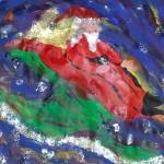 Santa Rides His Sleigh